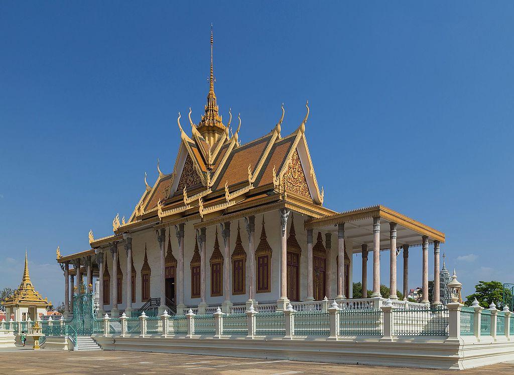 du lịch campuchia - Chùa vàng chùa bạc Phnompenh