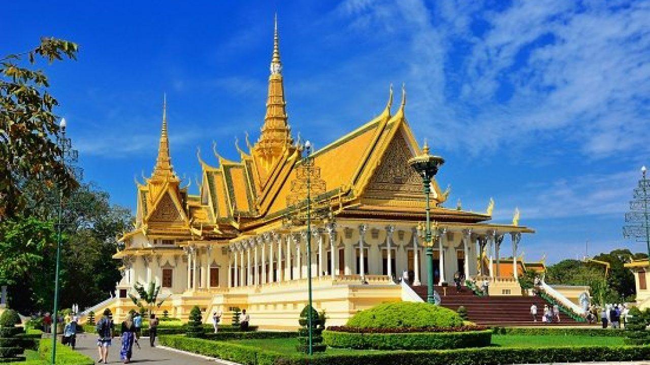 chùa vàng chùa bạc camuchia