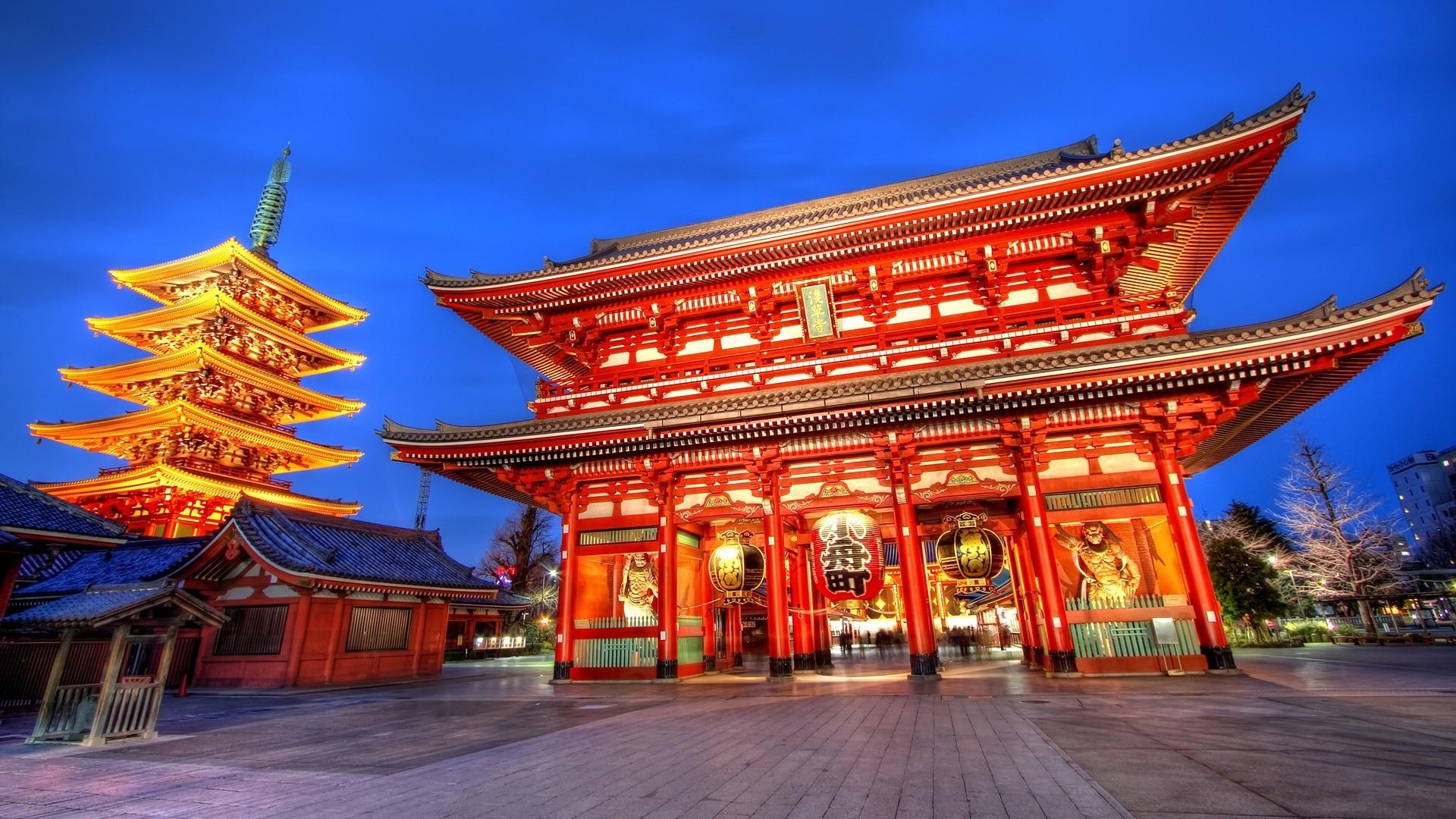 du lịch nhật bản - đền Asakusa Kannon