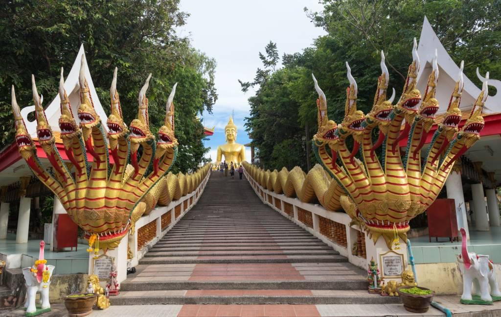 tượng phật Wat Khao Phra Bat