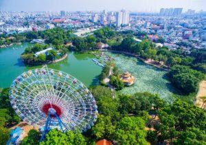 Thêm niềm vui – Bớt giá vé khi tham quan Công viên văn hóa Đầm Sen (Áp dụng cho nhóm từ 10 khách)